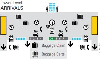 Louisville-Muhammad-Ali-Airport-arrivals-SDF-lower-level