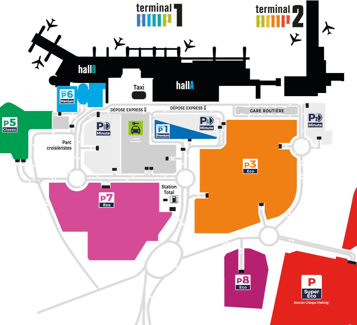 MRS-Departures-Marseille-Airport-parking-map