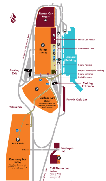 MSN-Arrivals-Madison-Dane-County-Airport-parking-map