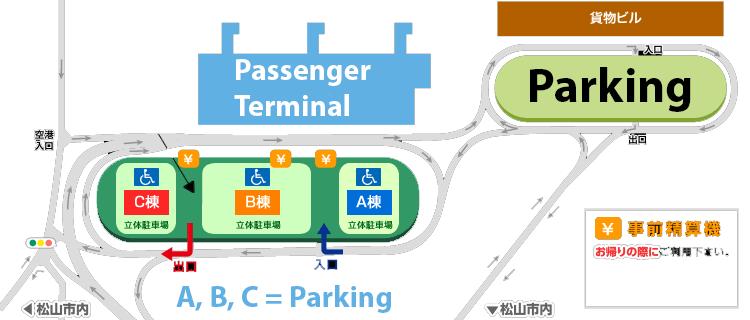 Matsuyama-Airport-Departures-MYJ-parking-map