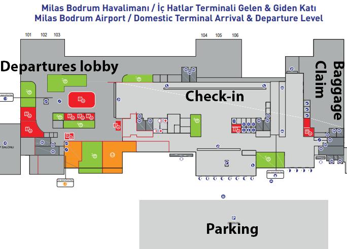 Milas–Bodrum-Airport-Arrivals-BJV-domestic-terminal