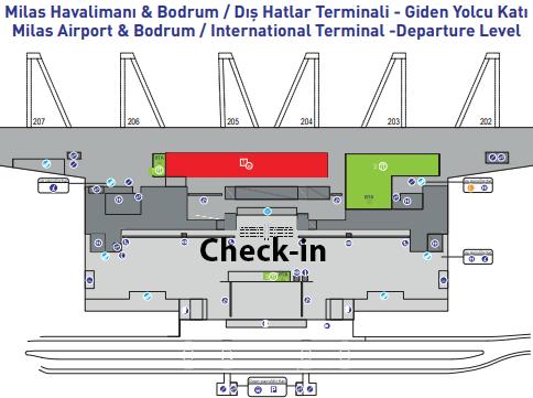 Milas–Bodrum-Airport-Arrivals-BJV-international-terminal