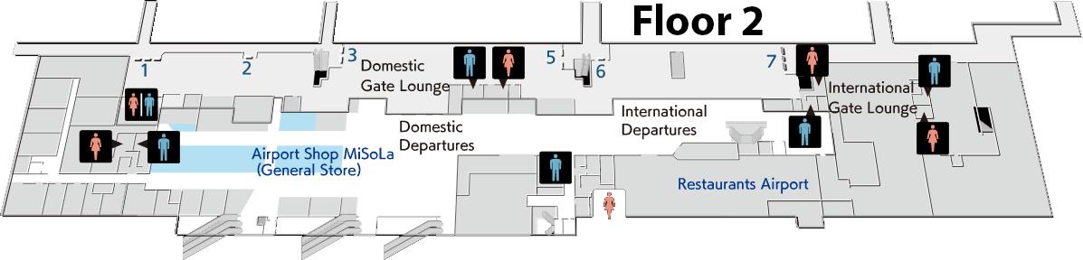 Nagasaki-Airport-Departures-NGS-floor-2-departure-lobby
