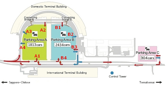 New-Chitose-Airport-Departures-CTS-parking-map