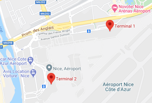Nice-Airport-Departures-NCE-terminal-map-location