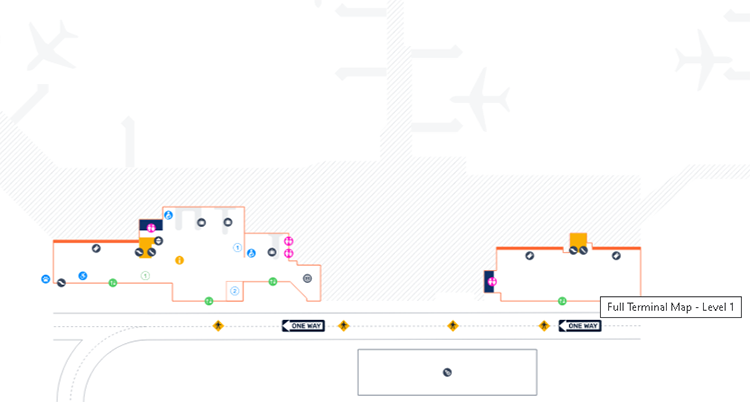 Orlando-Sanford-Airport-Arrivals-SFB-terminal-level-1-baggage-claim