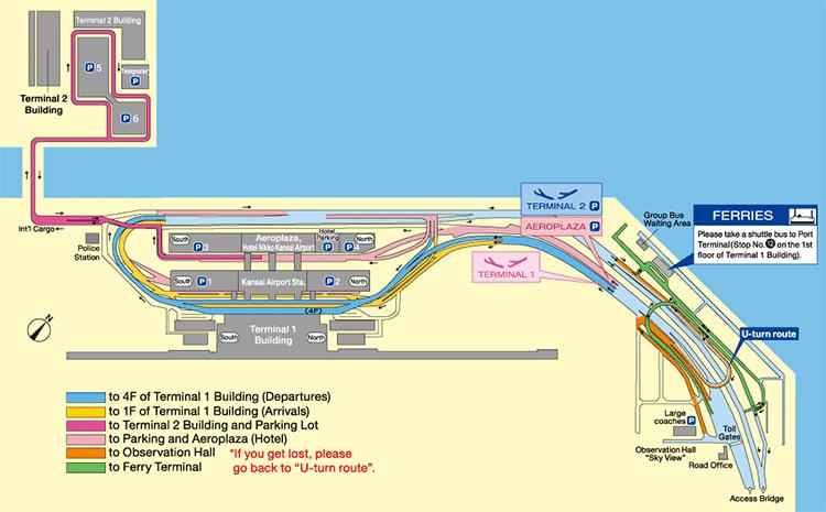 Osaka-Kansai-Airport-Departures-KIX-parking-map