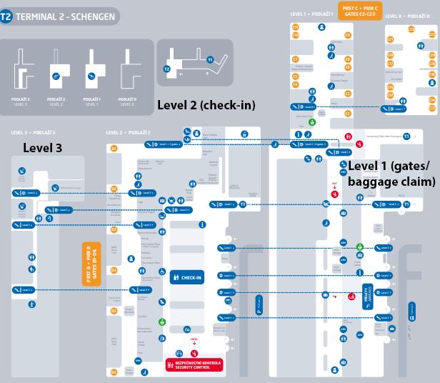 PRG-Departures-Prague-Airport-map-terminal-2