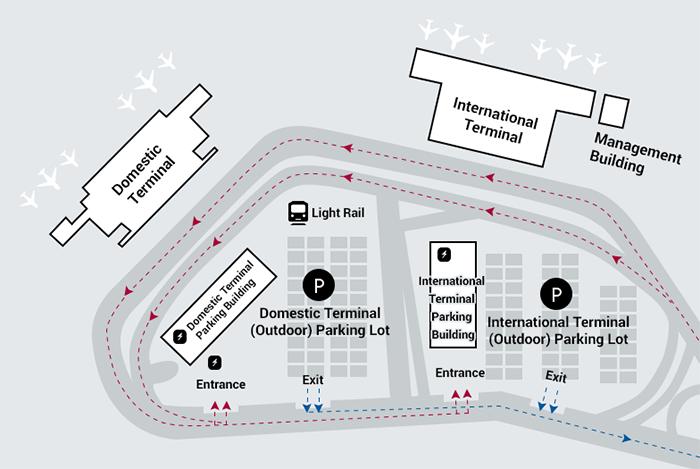 PUS-Arrivals-Gimhae-Airport-parking-area