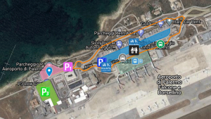 Palermo-Airport-Departures-PMO-parking-map