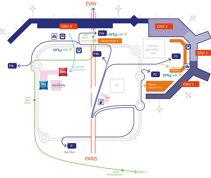 Paris-Orly-Airport-Arrivals-ORY-airport-map
