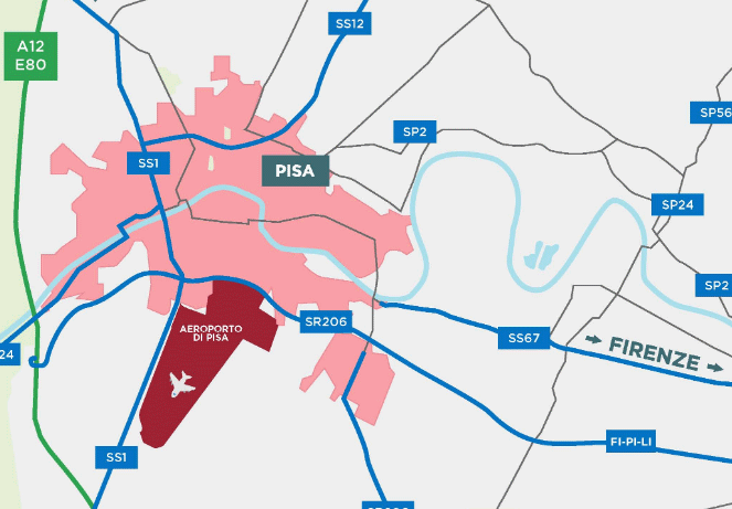 Pisa-Airport-Arrivals-PSA-location