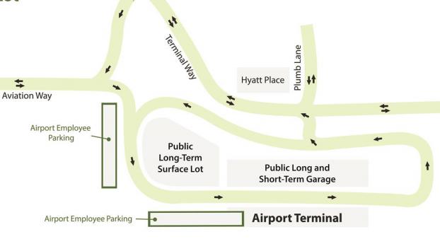 RNO-departures-reno-tahoe-airport-parking-area