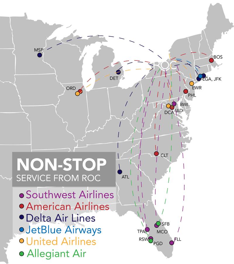 ROC-Departures-Rochester-Airport-map-direct-flights
