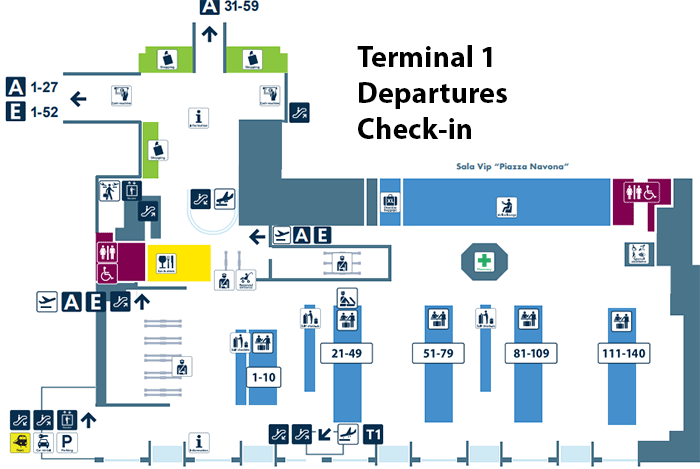 Rome-Fiumicino-Airport-Departures-FCO-terminal-1-check-in