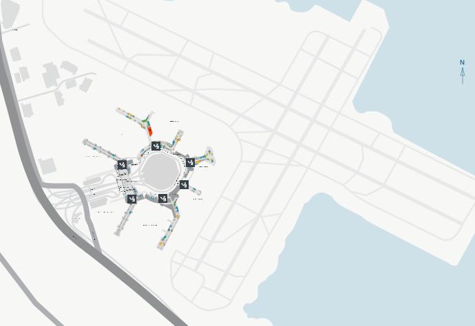 SFO-Arrivals-San-Francisco-Airport-map