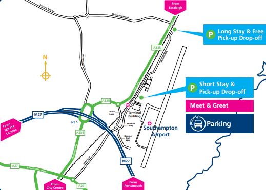 SOU-Arrivals-Southampton-Airport-parking-map