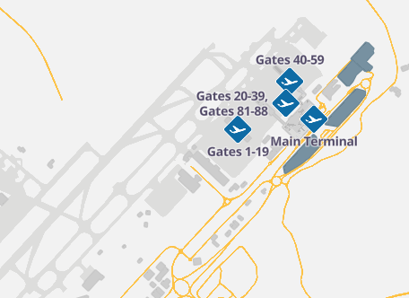 STN-Arrivals-London-Stansted-Airport-map