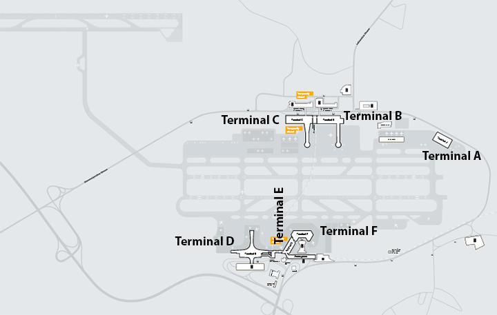 SVO-Departures-Moscow-Sheremetyevo-Airport-map