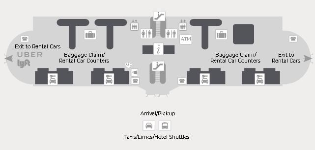 Savannah-Airport-Arrivals-SAV-(Hilton-Head)-first-level-baggage-claim