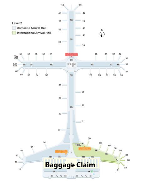 Shenzhen-Bao'an-Airport-Arrivals-SZX-terminal-map-level-2