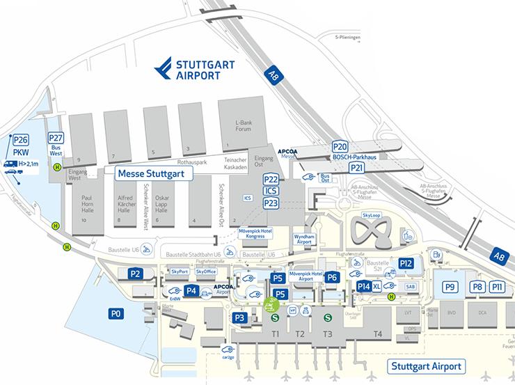 Stuttgart-Airport-Arrivals-STR-parking-map