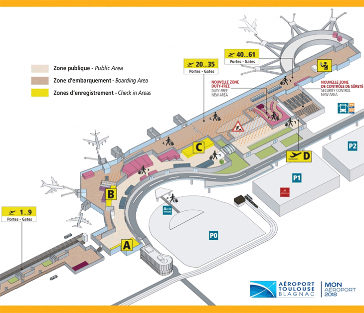 TLS-Departures-Toulouse-Airport-terminal-map