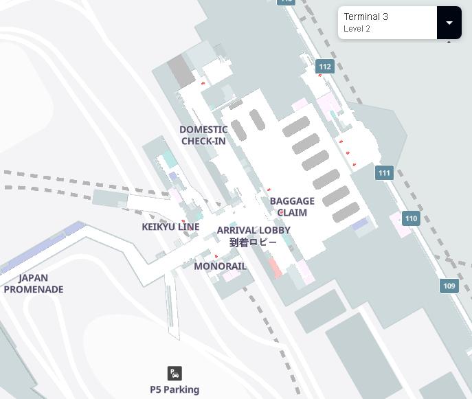 Tokyo-Haneda-Airport-Arrivals-HND-terminal-3-level-2-baggage-claim