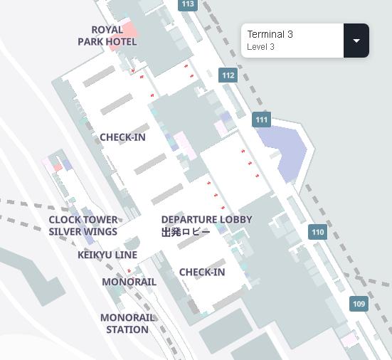 Tokyo-Haneda-Airport-Departures-HND-terminal-3-level-3-check-in