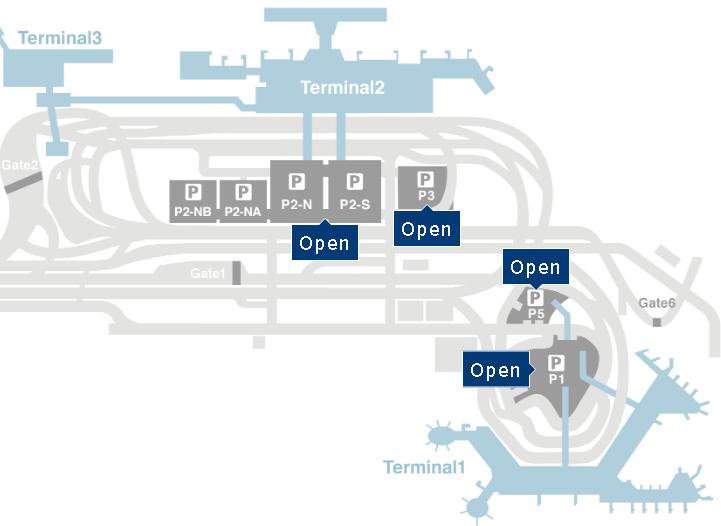Tokyo-Narita-Airport-Arrivals-NRT-parking-area