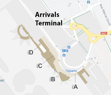 Toulouse–Blagnac-Airport-Arrivals-TLS-terminal-hall