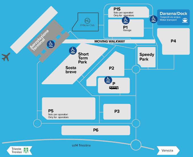 VCE-Arrivals-Venice-Airport-Marco-Polo-parking-map