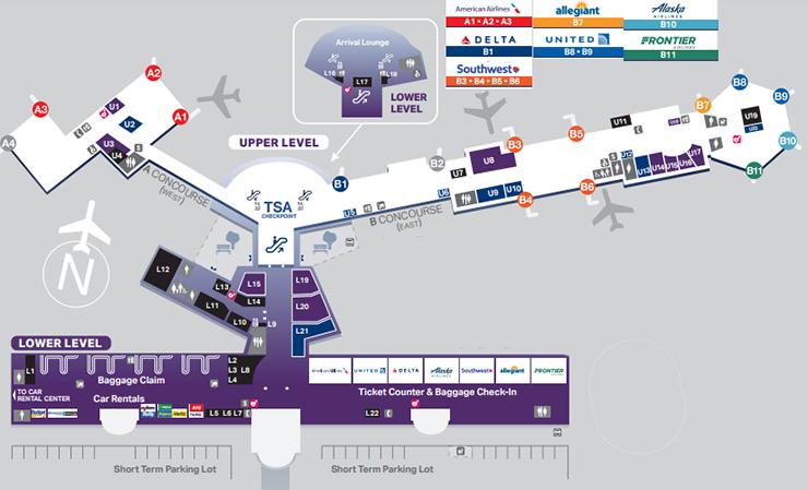 el-paso-airport-departures-ELP-terminal-ticketing-&-gates