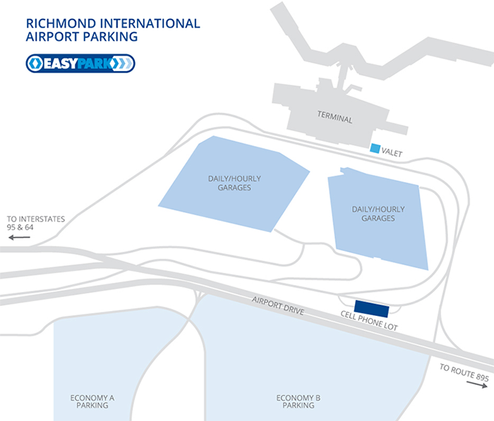richmond-airport-departures-ric-parking-area-and-terminal