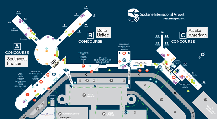 spokane-airport-arrivals-geg-terminal-map