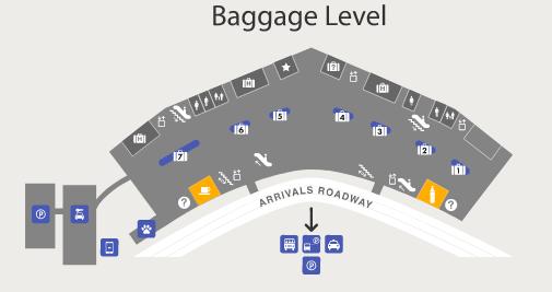 tucson-airport-arrivals-TUS-terminal-baggage-level
