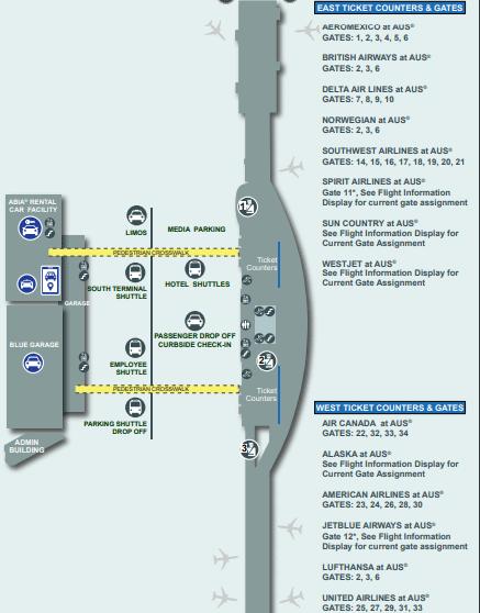 ABIA-Austin-Bergstrom-Airport-Departures-AUS-terminal-map