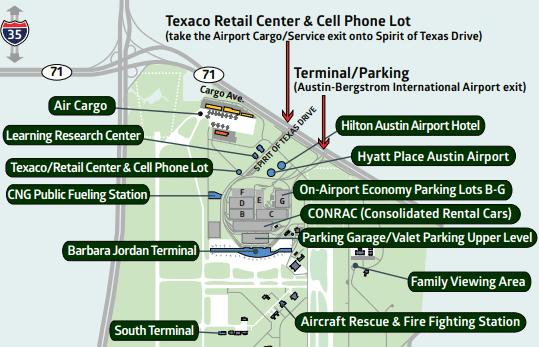 AUS-Departures-ABIA-Austin-Bergstrom-Airport-area-map