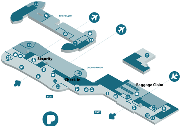Brno-Airport-Arrivals-BRQ-terminal-map
