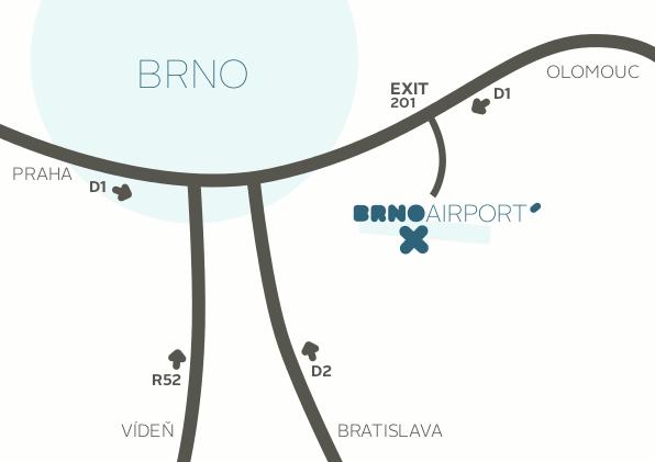 Brno-Airport-Departures-BRQ-location-map