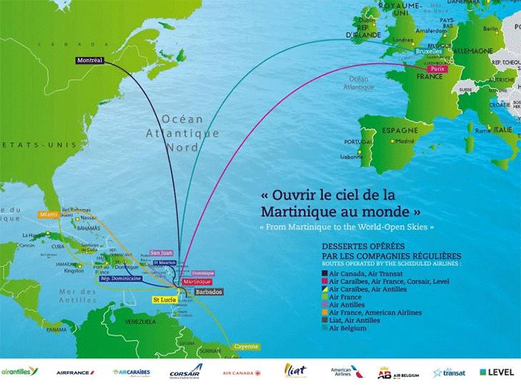 FDF-Departures-Martinique-Airport-destinations