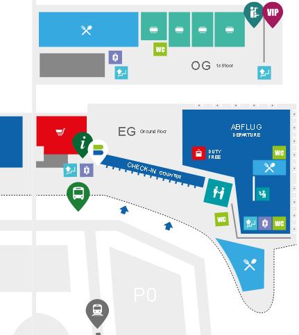 Graz-Airport-Departures-GRZ-terminal