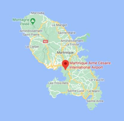 Martinique-Airport-Arrivals-FDF-location-island