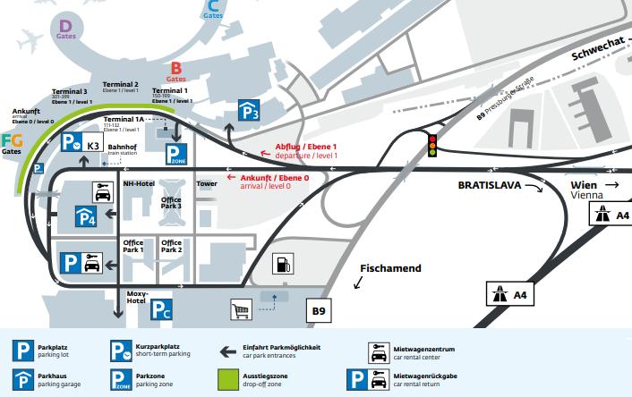 VIE-Arrivals-Vienna-Airport-parking-map