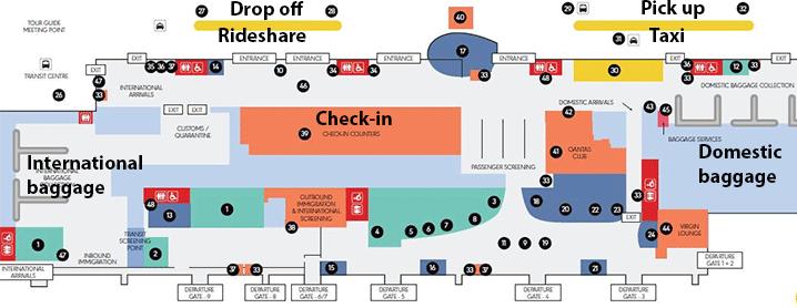Gold-Coast-Airport-Arrivals-OOL-Coolangatta-terminal--map