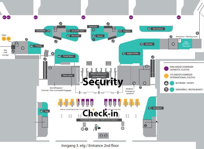 Bergen-Airport-Departures-BGO-Flesland-Airport-check-in-terminal-map