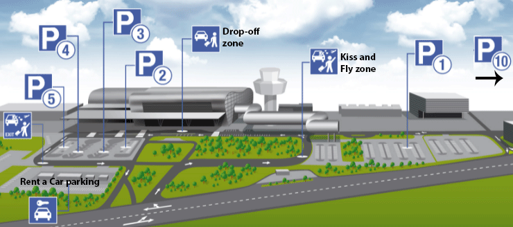 Dubrovnik-Airport-Arrivals-DBV-parking-map-terminal