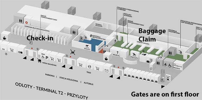 Gdańsk-Airport-Arrivals-GDN-terminal-map-ground-floor