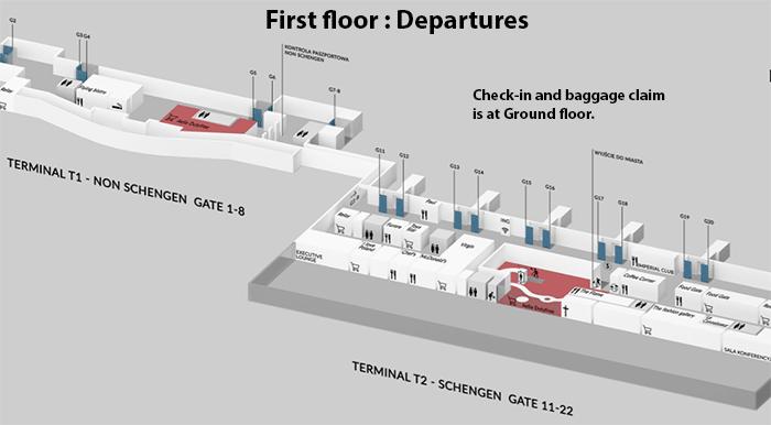Gdańsk-Airport-Departures-GDN-terminal-map-Lech-Wałęsa