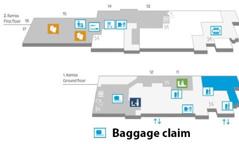 Oulu-Airport-Arrivals-OUL-baggage-claim-terminal-ground-floor